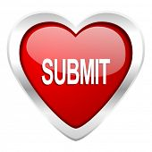 submit valentine icon