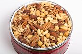 Tin Of Deluxe Mixed Nuts