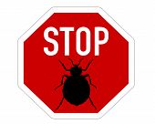 Stop Sign For Bedbugs