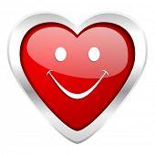 smile valentine icon