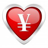 yen valentine icon