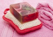 stock photo of personal hygiene  - Items for Spa treatments personal hygiene - JPG