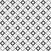 Abstract minimalistic black and white pattern rhombus