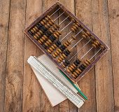 Old Abacus, The Paper With A Pencil