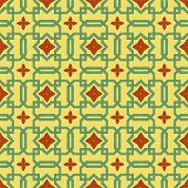 Celtic Flower Wall Paper