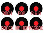 Music Genres Vinyl 2