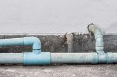 Old Waste Water Pipe