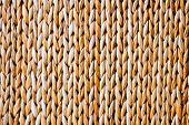 Handmade Abstract Yellow Straw Background