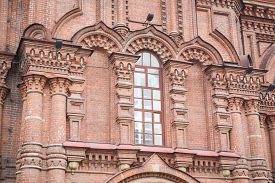 picture of epiphany  - Detail of the facade Epiphany church St - JPG