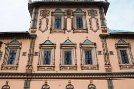 foto of epiphany  - Detail of the facade Epiphany church St - JPG