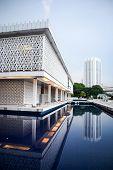 picture of malaysia  - National Mosque of Malaysia Kuala Lumpur Malaysia - JPG