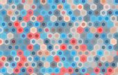 stock photo of hexagon pattern  - vector hexagonal design background - JPG