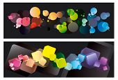 Colorfull abstract backgrounds