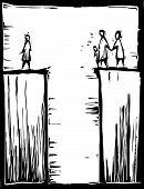 Atravessando a fenda