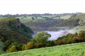 foto of thor  - thors cave is in the manifold valley in the staffordshire moorlands in the peak district uk - JPG