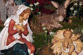 Nativity - Mary And Jesus