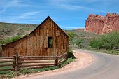 Old Ranch In Capitol Reef poster
