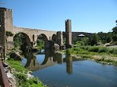 Bridge Besalu Spain