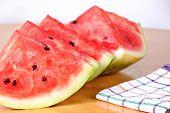 Watermelon Delicious Cut Diet Food Dessert