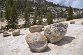 Boulders at Olmsted Point, Yosemite