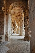Passage In Ancient Roman Amphitheater