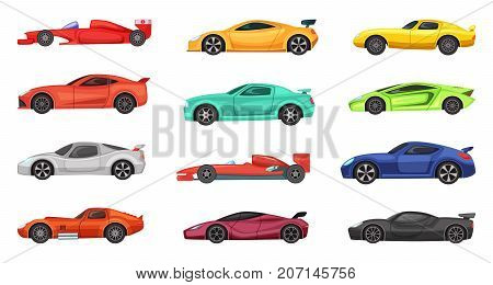 Different sport cars