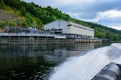 Foyers Falls Power Stations On Loch Ness poster
