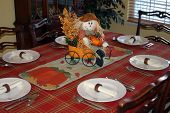 Autumn Dining Room Table