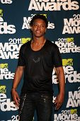 LOS ANGELES - JUN 5:  Lupe Fiasco in the press room of the 2011 MTV Movie Awards at Gibson Ampitheat