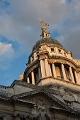 The dome of Old Bailey in London