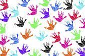 Children'S Handprints