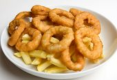 Onion Rings And French Fries