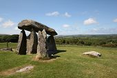 Pentre Ifan Dolmen or Burial Chamber, Pembrokeshire