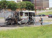Motor home fire