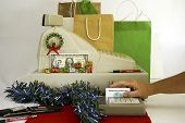 Credit  Card  Christmas Shopper