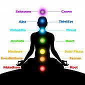 Meditation, Chakren