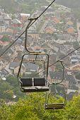 A Ski Lift Chair