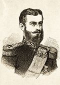 Porträt von Karl i., König von Rumänien. Illustration von Alwin Zschiesche, veröffentlicht auf