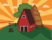 Farm Illustration.