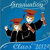 Graduation class2012 invitation