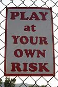 Playing At Your Own Risk