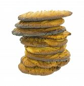 Stack Burned Cookies