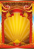 picture of school carnival  - multicolor circus poster - JPG