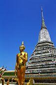 Buddharupa at Wat Arun