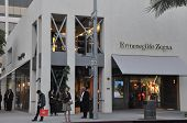 Rodeo Drive in Beverly Hills, California