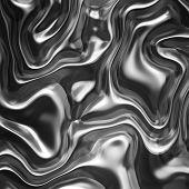 Liquid metal background