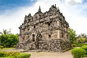 Candi Sari  (also known as Candi Bendah) buddhist temple in Prambanan valley on  Java. Indonesia. Bu