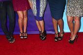 LOS ANGELES - 7 de JAN: 'Los sábados' asiste a la gira de prensa invierno de NBCUniversal 2013 TCA en Langham