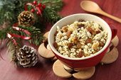Pot With Kutia � Traditional Christmas Sweet Meal