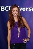LOS ANGELES - 7 de JAN: Una Healy de 'Los sábados' atiende a prensa de NBCUniversal 2013 TCA invierno